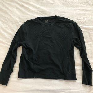 Nike - black long sleeve drifit shirt!